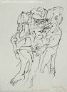 Illustrated Novel, Color ecoline on Torchon paper, 27 x 20 cm, 2005
