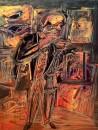 Gallerist, Oil on canvas, 65 x 50 cm, 2008