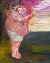 I'm Hopeful, Oil on canvas, 162 x 130 cm, 2008