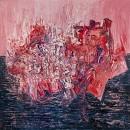 The Evening Sun, Oil on canvas, 200 x 200 cm, 2013