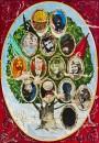 Burhan Kum - Genealogy, oil on canvas, 200 x 140 cm, 2015